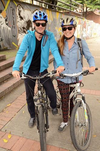 Bogota bikers