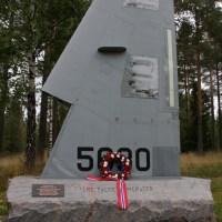 Minnesmerke, Gardermoen Flystasjon / Memorial, Gardermoen Air Base