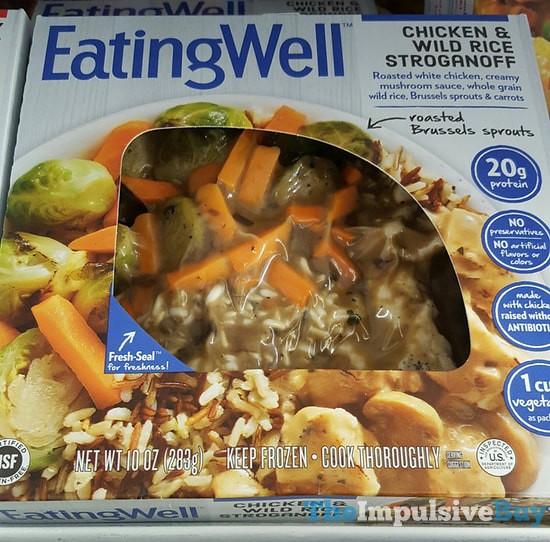 Eating Well Chicken & Wild Rice Stroganoff