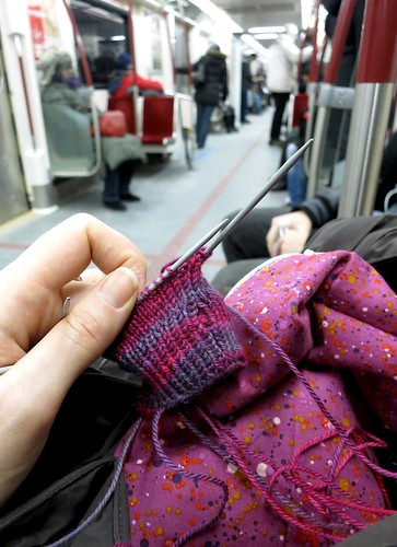 Feb7-SubwayKnitting