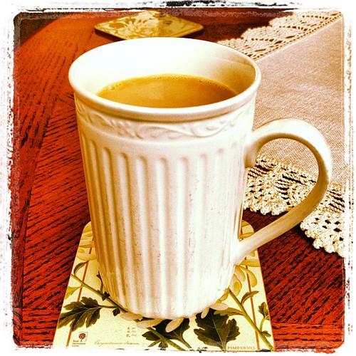 Feb 17 - in your hand {every morning, my coffee} #fmsphotoaday #coffee