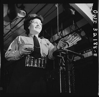 A Woman Operator in DC: 1943