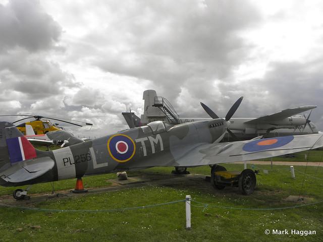 PL256 Spitfire IX Replica at Donington AeroPark