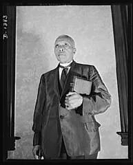 Longtime Rights Leader Rev. William H. Jernagin: 1940 ca