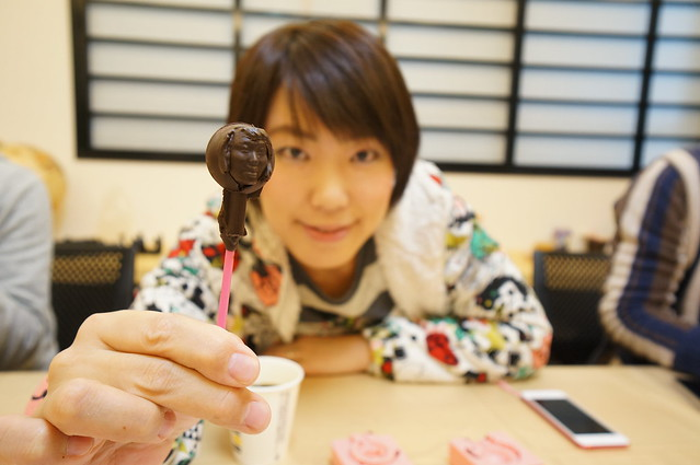 3-D Chocolate Replica of your Face