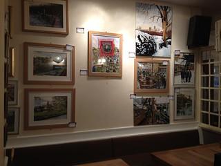 Artwork, Treats Coffee Shop, Durham