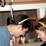 Xmas 2007 - Butting Heads