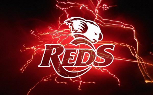 Queensland Reds Red Lightning Wallpaper by Sunnyboiiii