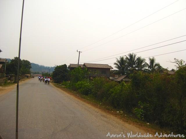 Highway in Laos