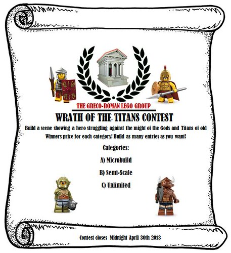 Wrath of the Titans Contest