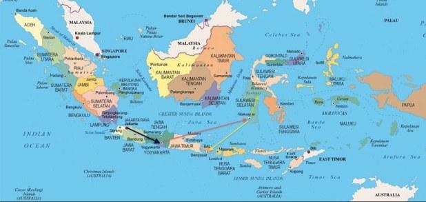 3 semanas de viaje a Indonesia