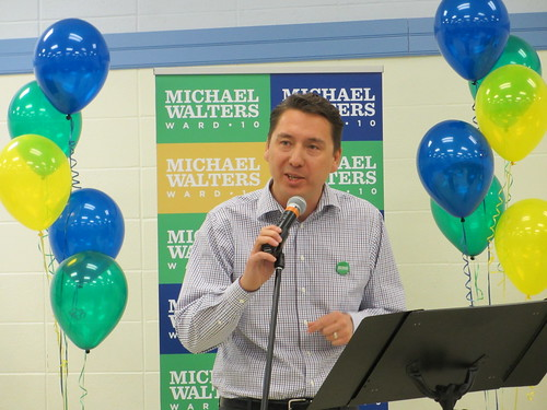 Michael Walters Campaign Launch