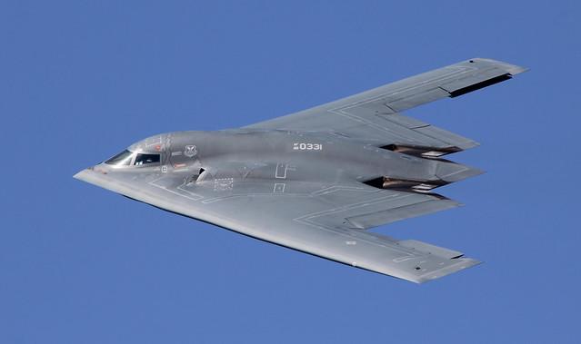 "Northrop Grumman B-2 Spirit, Stealth Bomber, AV-10 - 88-0331 ""Spirit of South Carolina"" at KBAD Barksdale Defenders of Liberty Airshow"
