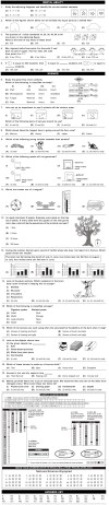 NSO 2nd Level Sample Papers for Class 3