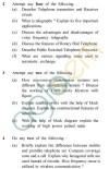 UPTU B.Tech Question Papers -EC-806 - Communication System Practices