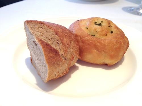 付け合わせのパン@リストランテ カバカヴァロ
