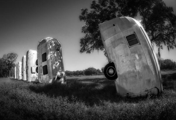 Airstream Ranch B&W