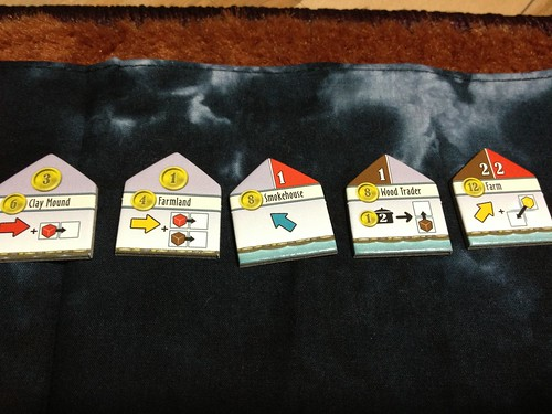 Le Havre: Inland Solo Port first randomized buildings row