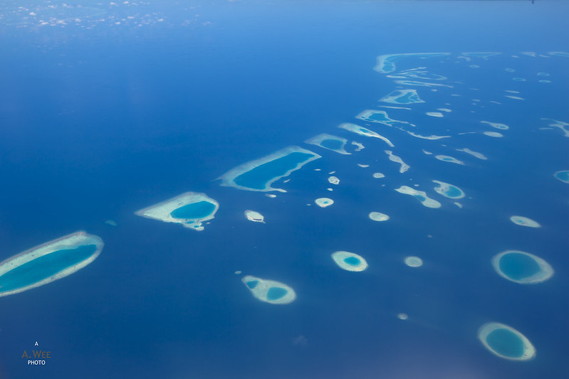 Ocean Landscape of the Maldives
