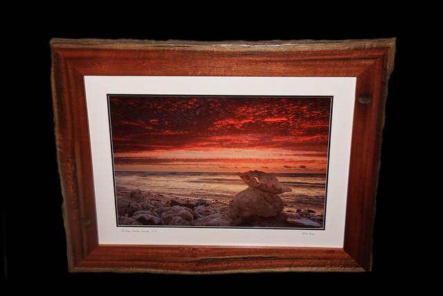 My latest framed image of mine. Framed in jarrah