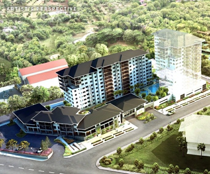 ASILO TAGAYTAY_Whole development_aerial view