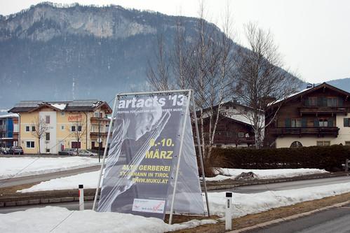 artacts '13, St Johann, Austria 8.3.13