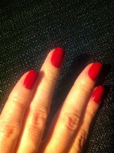 O.P.I. Red