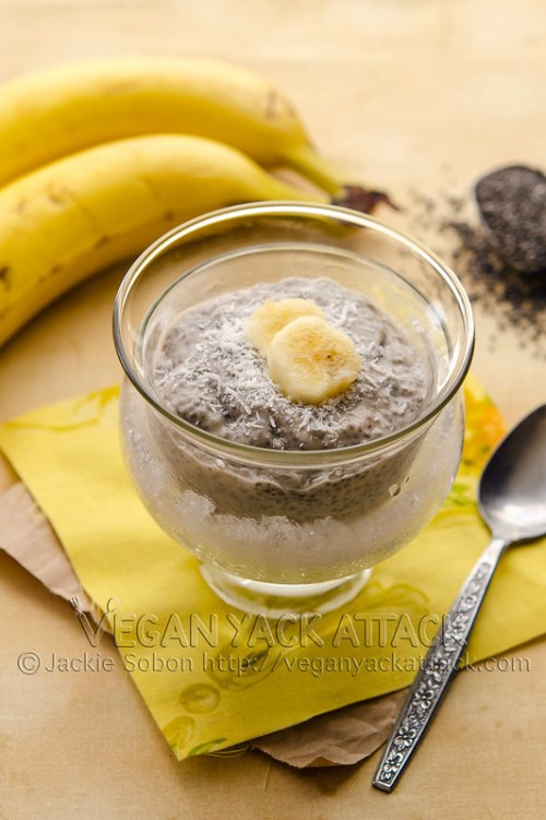This pie-inspired Banana Cream Chia Pudding comes together quickly and easily. Plus, it's healthy and oh-so delicious. Vegan, Soy-free, Gluten-free
