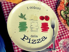The colors of pizza