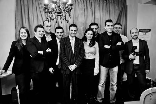 """Arash Derambarsh et une partie de l'équipe de """"Courbevoie - ville 3.0"""" by Arash Derambarsh"""