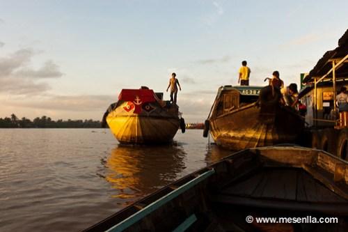 Mercat flotant al Delta del Mekong