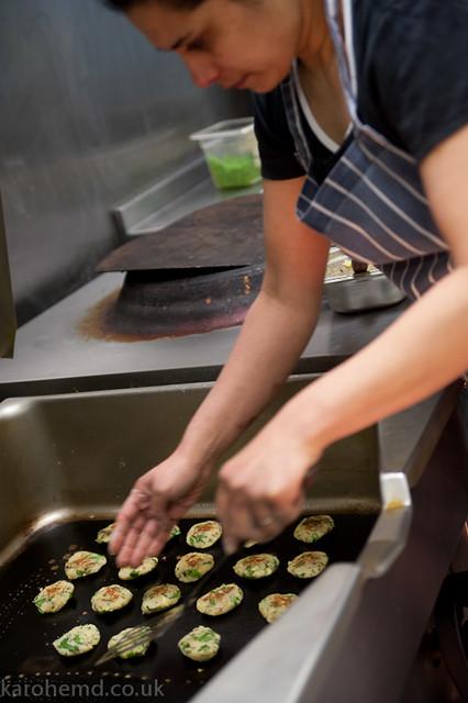 Making potato cakes