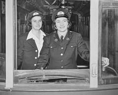 First All-Female DC Streetcar Crew: 1943