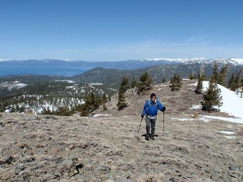 Snowshoeing Duane Bliss Peak