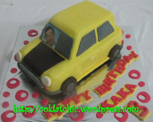 Cake Mr Bean