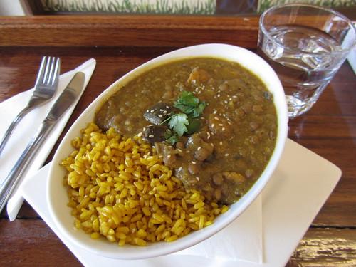 birthday lentil dahl