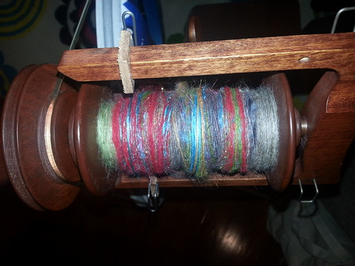 more long draw spinning by Miss Knotty