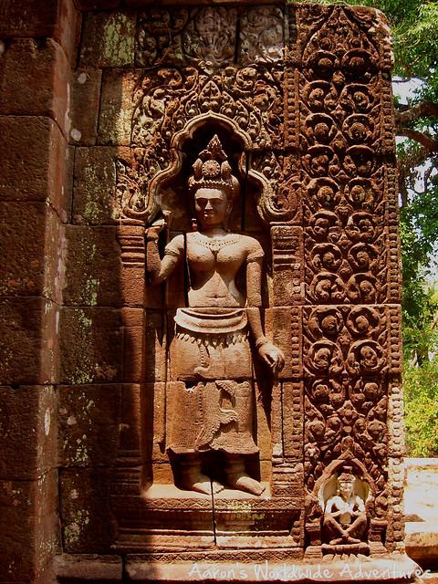Apsara at Wat Phu Champasak