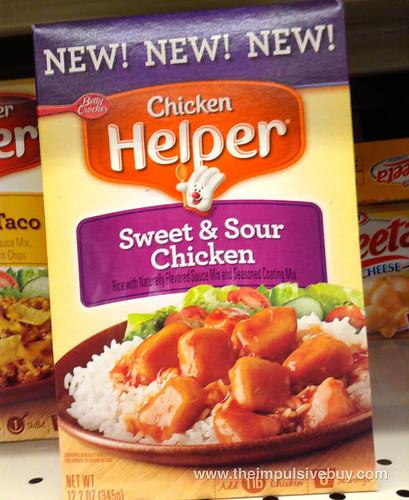 Betty Crocker Sweet & Sour Chicken Helper