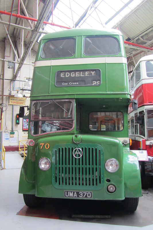 SHMD Atkinson Double Decker UMA 370, Greater Manchester Museum of Transport