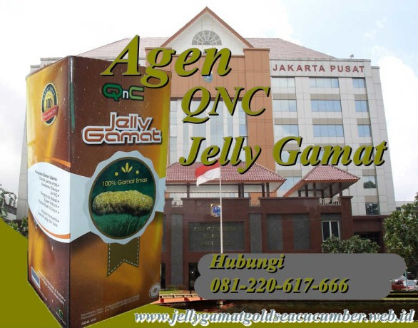 Agen QNC jelly Gamat jakarta Pusat