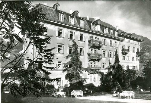 postcard - bolzano - hotel luna