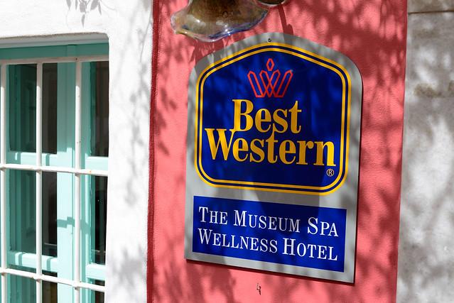 Best Western Hotel.