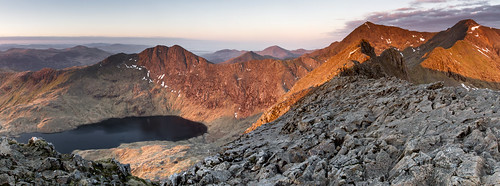 The birth of a brand new day - The Snowdon Horseshoe
