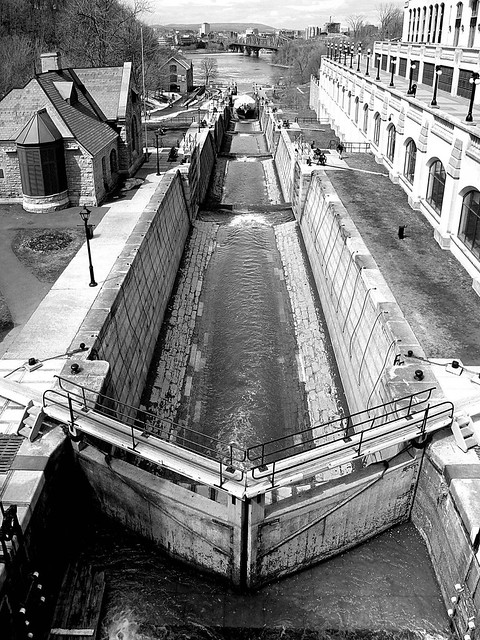 end of the locks