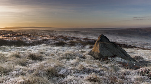 Frosty Dawn - Saddleworth Moor