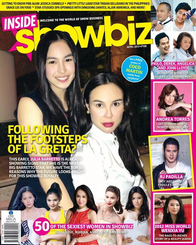 Julia and Gretchen Barretto