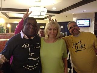 Reggie, Val, Mark