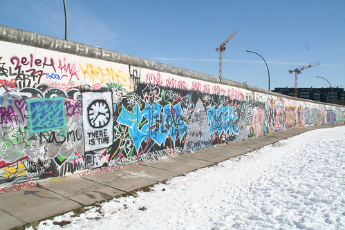 """There is Time"" at Eastside Gallery"