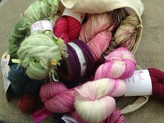 Yarn Crawl Haul